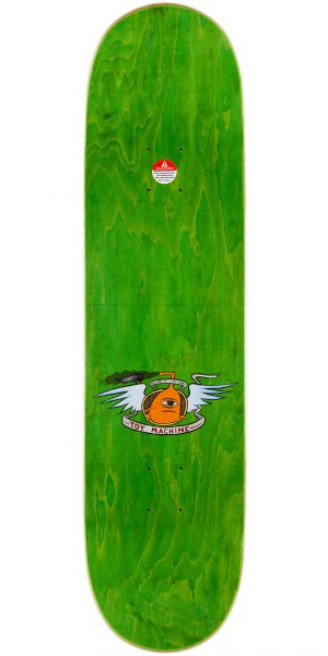 Toy Machine Ed Templeton Sect Girl Skateboard Complete - 8.375""