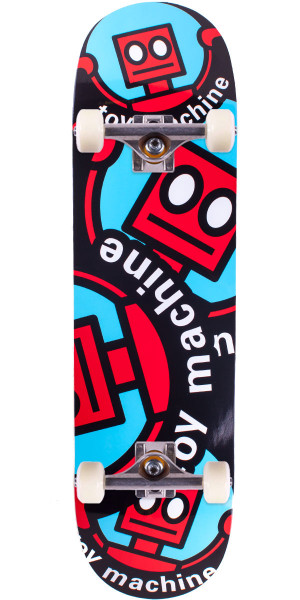 Toy Machine Robot Skateboard Complete - Red - 8.75""