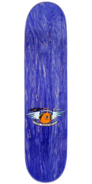 Toy Machine Sect Face Skateboard Deck - Orange - 7.875""
