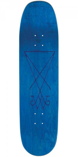 Welcome Dandy In the Underworld on Baculus Skateboard Deck - Dark Teal - 8.75""