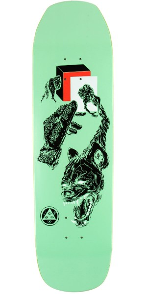Welcome Face of a Lover on Banshee Skateboard Deck - Mint - 8.60""