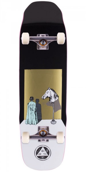 Welcome Haunted Horse on Sledgehammer Skateboard Complete - Black - 9.0""