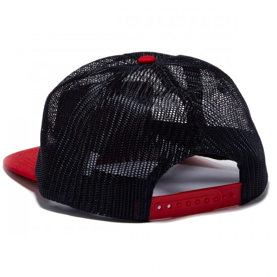 Thrasher Magazine Logo Mesh Hat - Blue/Red