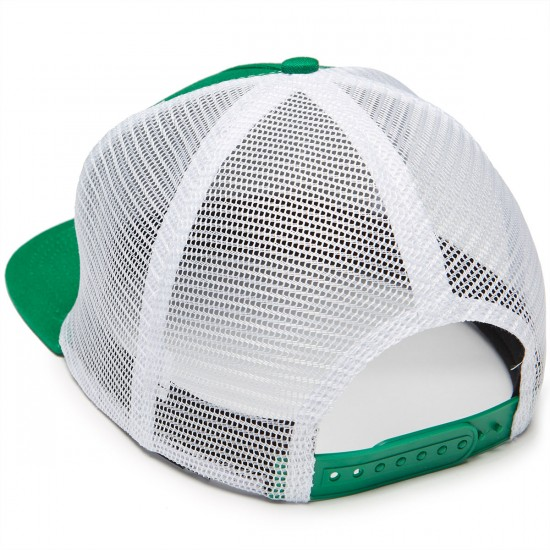 Thrasher Prevent This Tragedy Trucker Hat - Green/White