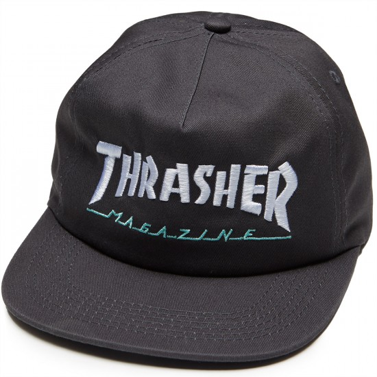 Thrasher Magazine Logo Two Tone Hat - Grey