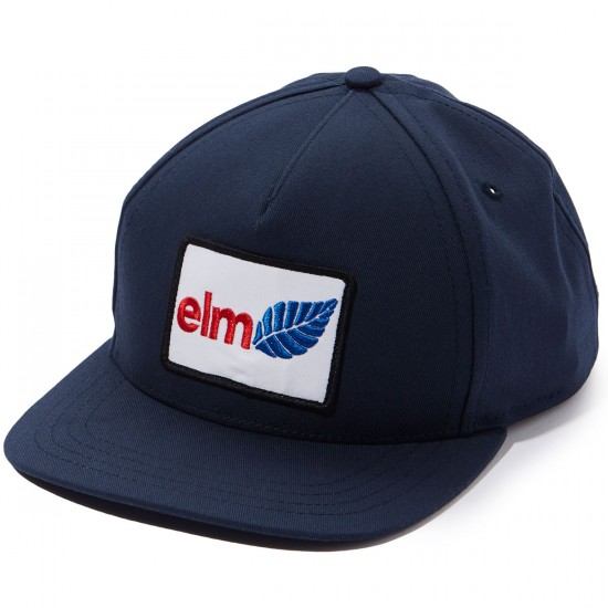 Elm Clark Trucker Hat - Navy