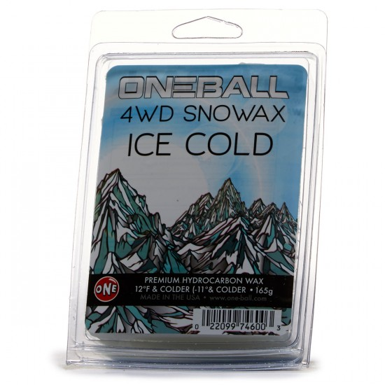 One Ball Jay 4WD Cold 23-12F, 165g Snowboard Wax - 165g