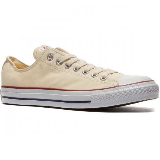 Converse Chuck Taylor All Star Lo Shoes - Natural White