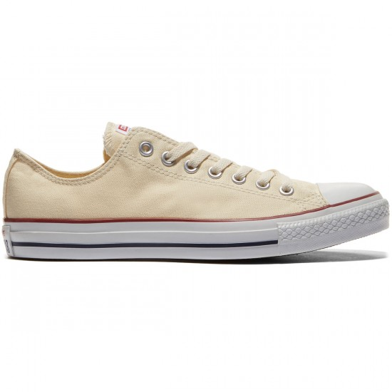 Converse Chuck Taylor All Star Lo Shoes - Natural White - 8.0