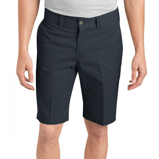 "Dickies '67 Slim Twill Work 11"" Shorts - Charcoal"