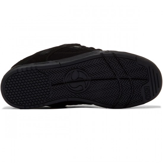 DVS Enduro Heir Shoes - Black/Black/Nubuck - 8.5