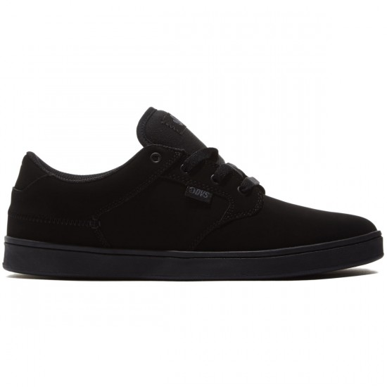 DVS Quentin Shoes - Black/Black/Black/Nubuck - 8.0