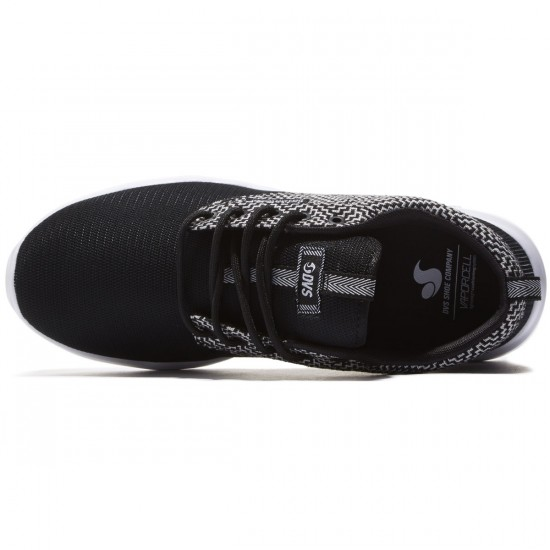 DVS Premier 2.0 Shoes - Black/Black/White - 8.0