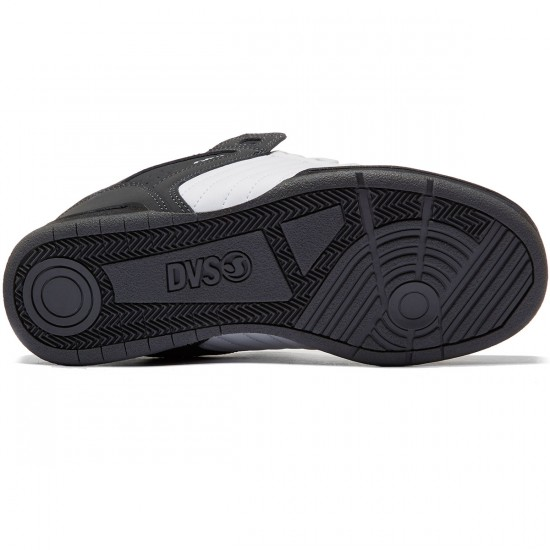 DVS Celsius Shoes - Black/White/Grey/Nubuck - 8.0