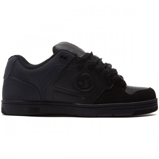 DVS Discord Shoes - Black/Grey/Black/Nubuck - 8.0