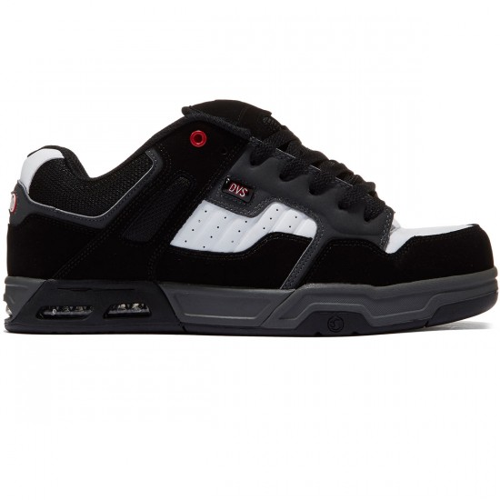 DVS Enduro Heir Shoes - Black/Red/Grey - 8.0