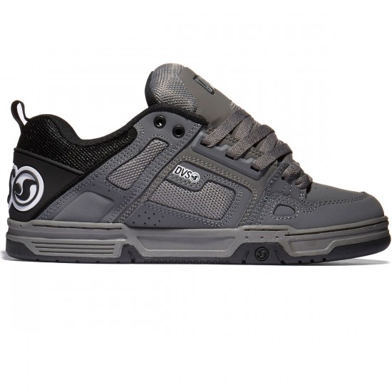 DVS Comanche Shoes - Grey/Black/White - 10.0