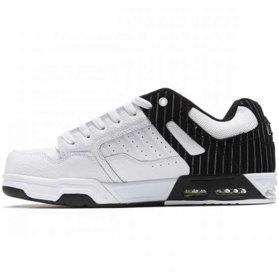 DVS Enduro Heir Shoes - White/Black Pinstripe - 8.0