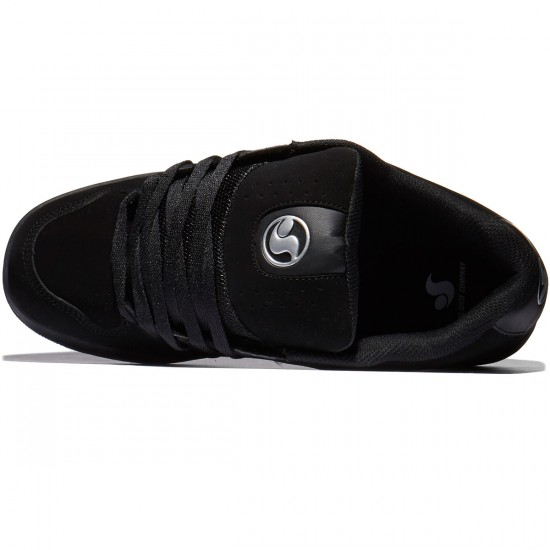 DVS Discord Shoes - Black/Silver - 10.0
