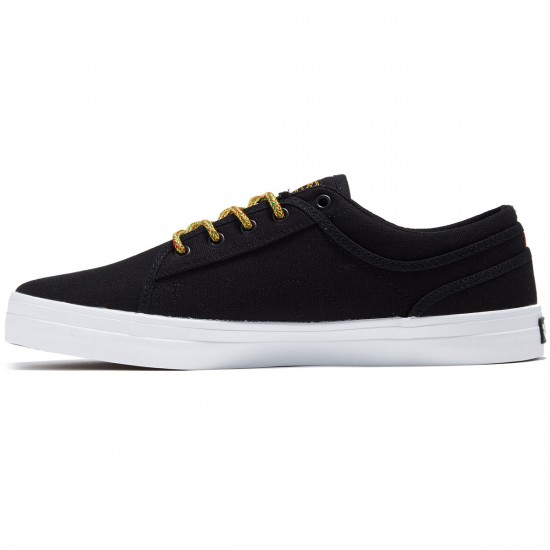 DVS Aversa Shoes - Black Rasta Canvas - 8.0
