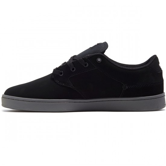 DVS Quentin Shoes - Black Nubuck/Grey - 8.0