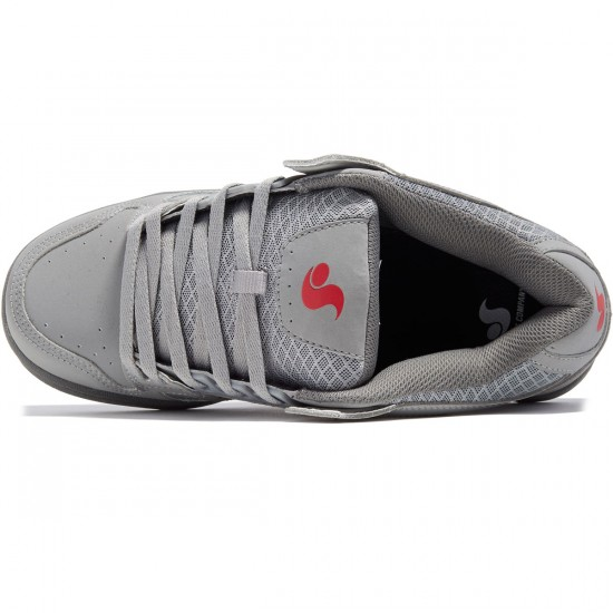 DVS Celsius Shoes - Grey Leather Nubuck - 8.0