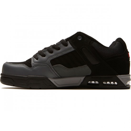 DVS Enduro Heir Shoes - Charcoal/Black Nubuck - 8.5