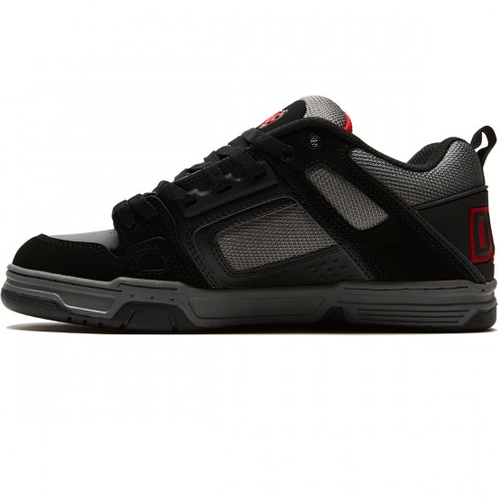 DVS Comanche Shoes - Black/Charcoal Nubuck - 8.0