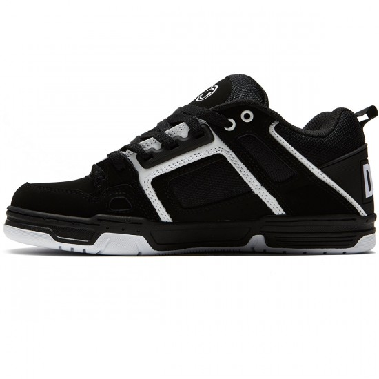 DVS Comanche Shoes - Black/White Nubuck - 8.0