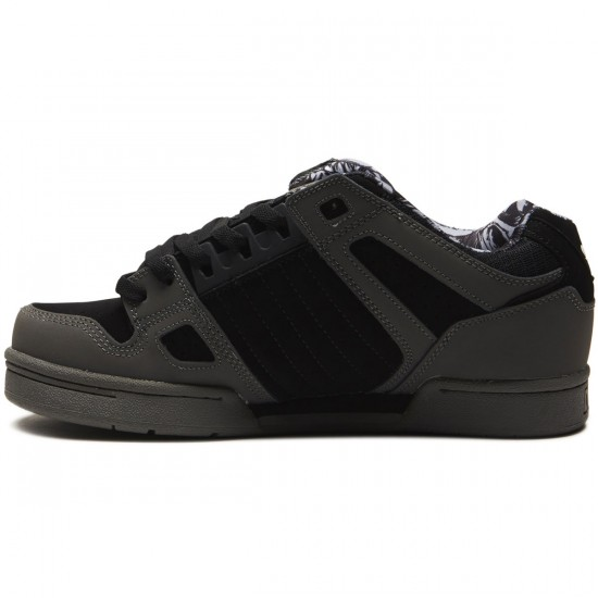 DVS Celsius Shoes - Charcoal/Black Nubuck - 8.0
