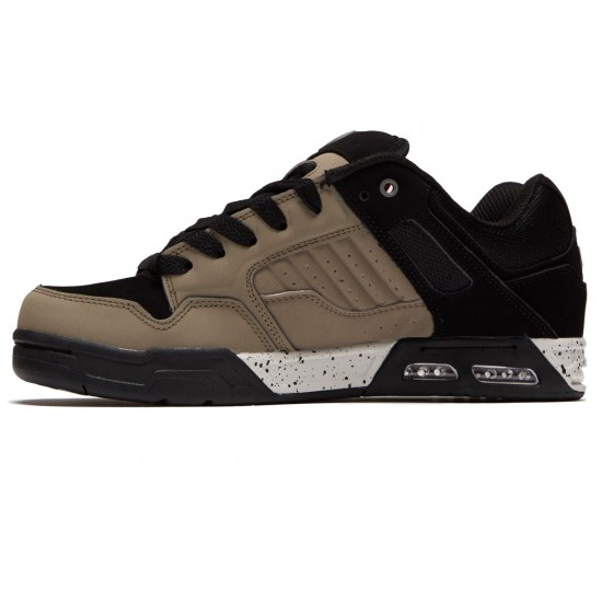 DVS Enduro Heir Shoes - Taupe/Black Leather