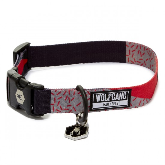 Wolfgang Rosette Dog Collar