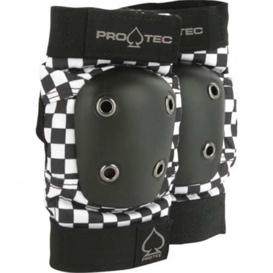 Protec Black Checker Elbow Pads