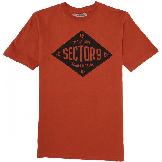 Sector 9 Makers T-Shirt - Cayenne