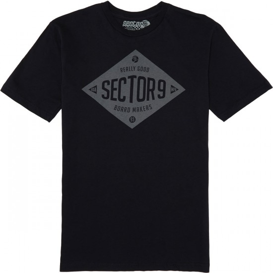 Sector 9 Makers T-Shirt - Black