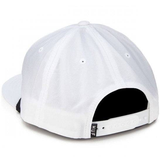 HUF X Thrasher Collab Logo Hat - White