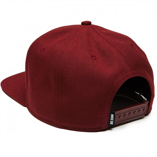 Nike SB Pro Hat - Dark Team Red/Dark Team Red