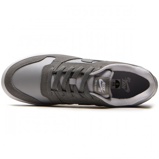 Nike SB Delta Force Vulc Shoes - Cool Grey/Grey Wolf/White - 6.0