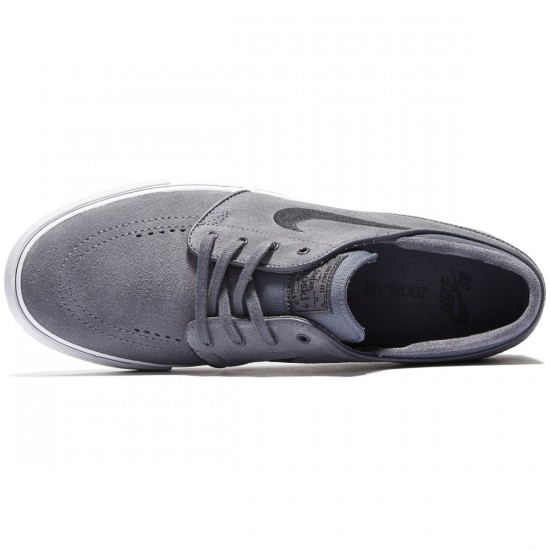 Nike Zoom Stefan Janoski Shoes - Dark Grey/Pure Platinum/Black - 7.0