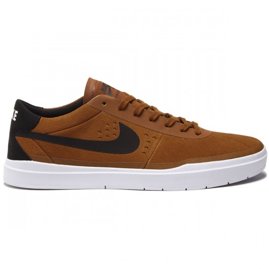Nike SB Bruin Hyperfeel Shoes - Hazelnut/Black/White - 7.0