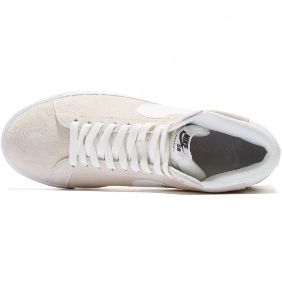Nike SB Blazer Premium SE Shoes - White/Gum/Black - 8.0