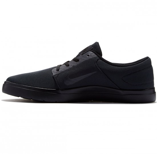 Nike SB Portmore Ultralight Shoes - Black/Anthracite - 7.0