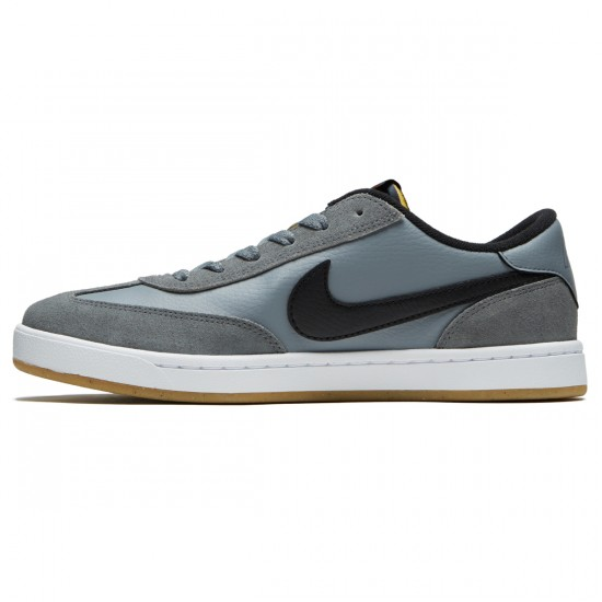 Nike SB FC Classic Shoes - Cool Grey/Black/White/Vivid Orange - 6.5