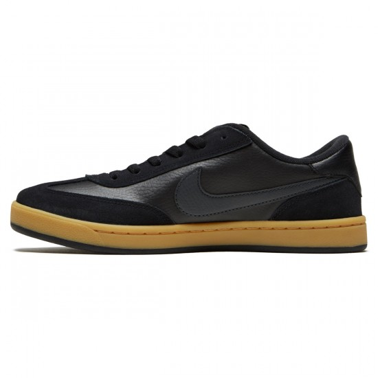 Nike SB FC Classic Shoes - Black/Anthracite/Vivid Orange