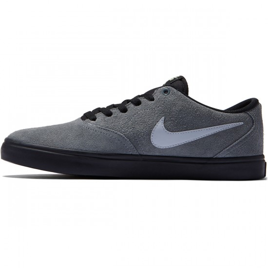 Nike SB Check Solarsoft Shoes - Cool Grey/Wolf Grey/Black - 7.0