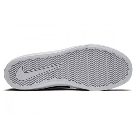 Nike SB Solarsoft Portmore II Shoes - Black/White - 6.0