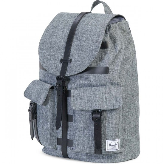 Herschel Dawson Backpack - Polyoffset Raven Crosshatch