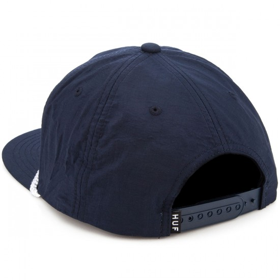 HUF X Thrasher Collab Logo Hat - Navy