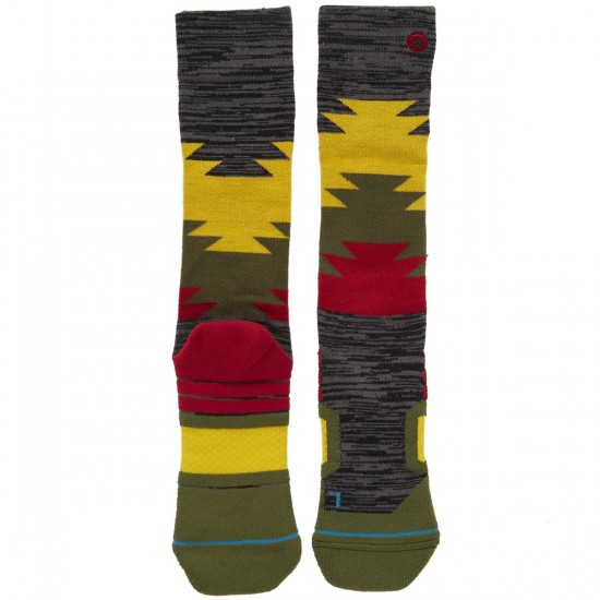 Stance Safety Meeting Snowboard Socks - Black