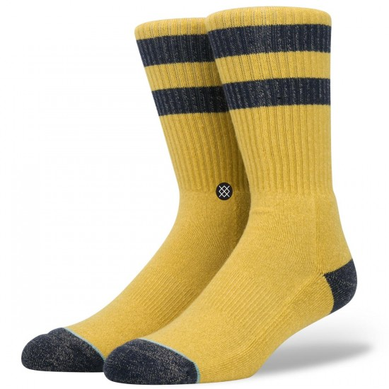 Stance Salty Socks - Gold